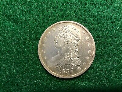 Lot # 1511 Bust Half Dollar 1837 In Very Fine Condition