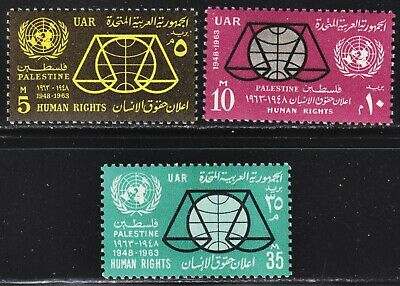 Egypt Scott N100-N103 complete set  F to VF mint OG H.