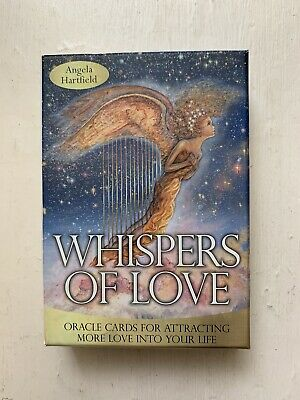Angel Oracle Cards - Blue Angel - Whispers Of Love Like New