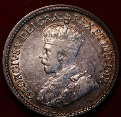1919 Canada 5 Cents Silver Foreign Coin