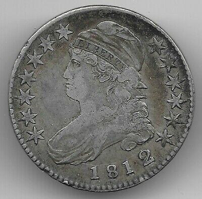 1812 2 Over 1 Capped Bust Half Dollar