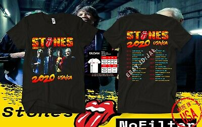 NEW The Rolling Stones t Shirt No Filter Tour 2020  usa size S-5XL