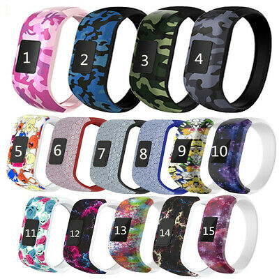 For GARMIN VIVOFIT JR JR 2 Band Replacement Silicone Wrist Strap Junior Fitness~