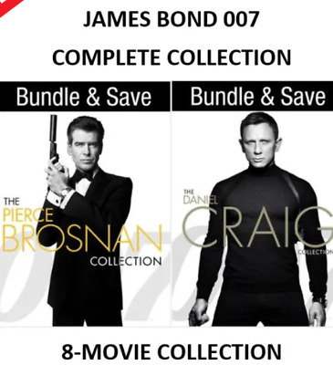 007 James Bond Collection Hd With Vudu Instawatch From Blu Ray Read Listing