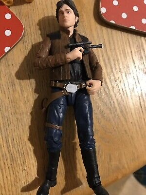Star Wars Black Series Han Solo From Solo Movie 6 Inch Action Figure Hasbro