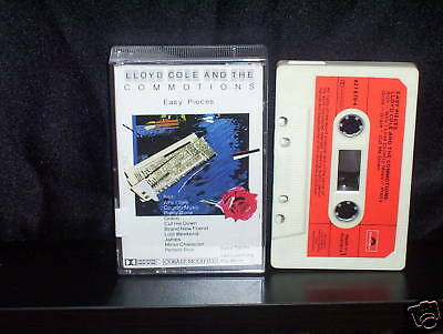 LLOYD COLE and the COMMOTIONS EASY PIECES - RARE AUSTRALIAN CASSETTE TAPE NM