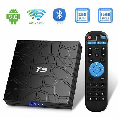 2051927-TUREWELL T9 Android 9.0 TV BOX 2GB RAM/16GB ROM Support 2.4/5.0Ghz WiFi
