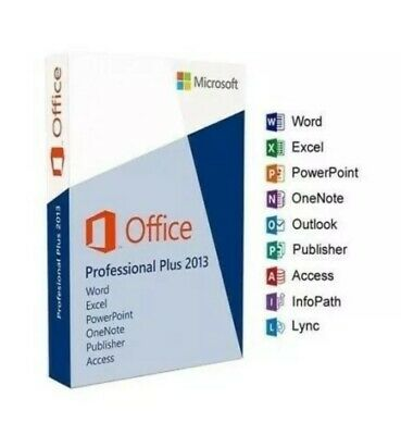 MS Microsoft Office 2013 Professional Plus / Original Key / via Ebay Messenger