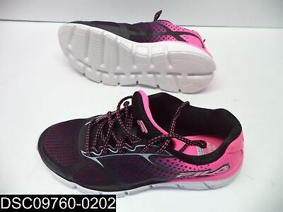 NEW FILA BLACK Womens Running Shoes Size 6 12 Memory Foam