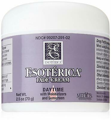 2PK-Esoterica Fade Cream Daytime with Moisturizers and Sunscreen 2.5 oz UNBOXED