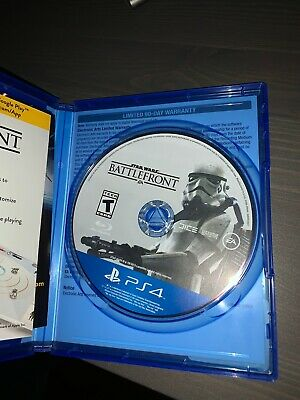 STAR WARS BATTLEFRONT ps4 video games used