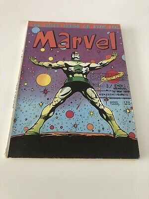 MARVEL N° 2 LUG 1970 EO voir PHOTOS No FANTASK STRANGE