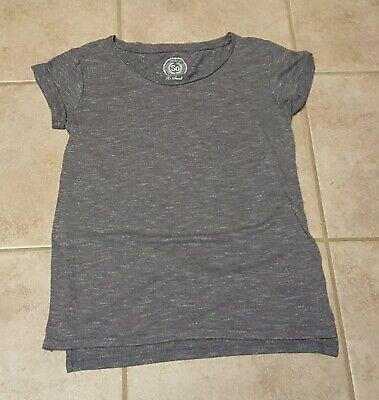 SO Brand Women's Juniors Gray Short Sleeve Top Size Xsmall