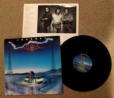 Rock Journey Raised On Radio Lp Record Sterling Robert Ludwig 1986 Excellent *