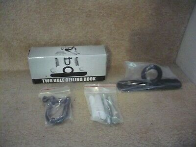 Two Hole Ceiling Hook Heavy Duty For Punch Bags Or Other Heavy Items Unused