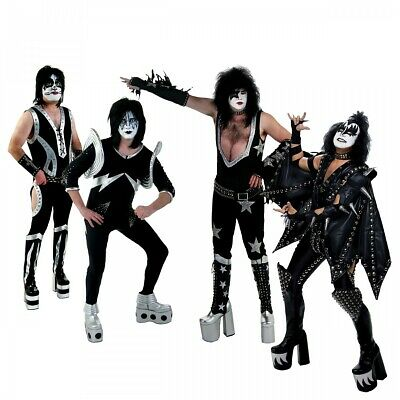 KISS Boots Costume Shoes Adult KISS Halloween