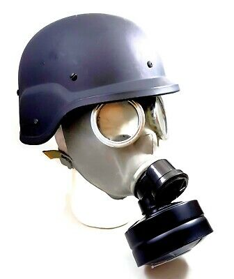 NBC Gas Mask - Polish MC-1 Gas Mask Full Face Military & Police w/Filter & Bag