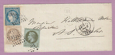 N°25 27 37 Gc 2598 Nancy Meurthe Et Moselle Or St Nicolas Du Port Lettre Cover