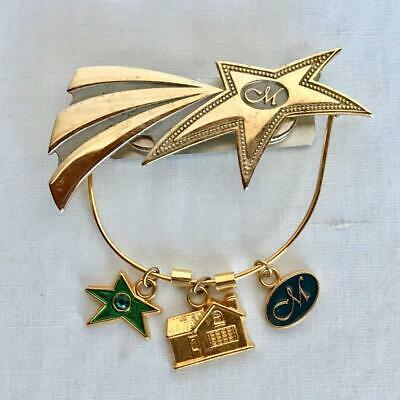 RARE Creative Memories Consultant Pin with 3 Charms