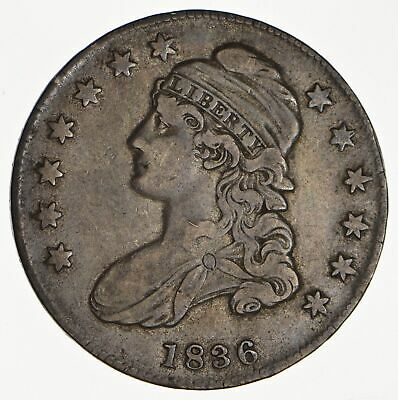 1836 Capped Bust Half Dollar - Circulated *0122