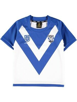 NEW BULLDOGS Toddlers Nrl Jersey by Best&Less