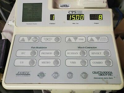 Excellent Chattanooga Forte 200 Ultrasound Therapy Unit