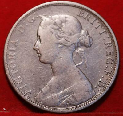 1864 New Brunswick One Cent Foreign Coin