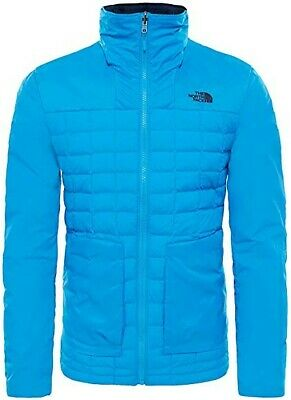 BNWT Mens THE NORTH FACE Thermoball Lightweight JACKET Blue Aster SIZE XL Hooded