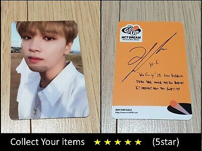 NCT Dream 2nd mini album We Go Up Haechan Official Photo Card
