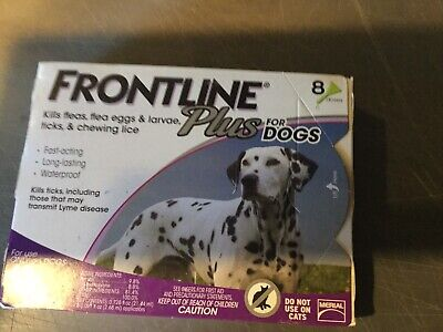 Frontline Plus Flea And Tick Control For Dog 45-88Lb 8 Months Supply-Value Pack