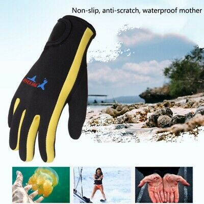 Men Women Anti Slip Diving Gloves Outdoor Snorkeling Surfing Wetsuit Sports Gear