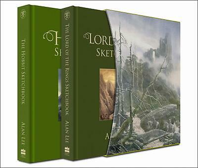 SIGNED The Hobbit & The Lord of the Rings Sketchbook - Slipcase - Alan Lee