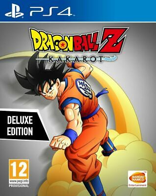 Dragon Ball Z Kakarot DELUXE EDITION - Incluye SEASON PASS - PS4 Ed.española P