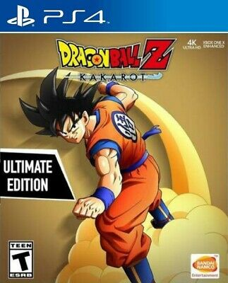 Dragon Ball Z Kakarot ULTIMATE EDITION - Incluye SEASON PASS - PS4 Ed.española P