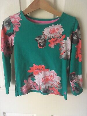 Joules Girls Floral Top, Excellent Condition, Age 5-6