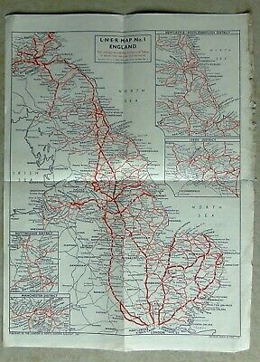 Lner 1947 System Map, From Timetable.