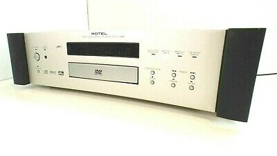 ROTEL RCD-1080 High End Audiophile CD DVD Player with DVD Audio - SERVICED