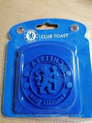 Chelsea Football Club official Club Toast stamper - Lion Crest Breakfast!!