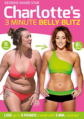 Charlotte Crosby's 3 Minute Belly Blitz [DVD] [2014], Good DVD, Charlotte Crosby