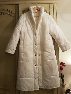 Minelli White Jacket Made In Finland Size UK 10 /M