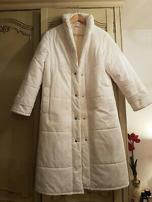 Vintage Minelli White Jacket Made In Finland Size UK 10
