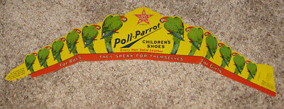 Vintage Poll-Parrot Children's Shoes - Premium Advertising Hat