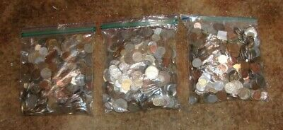 (5)  Five Pounds of well mixed Foreign Coins 34