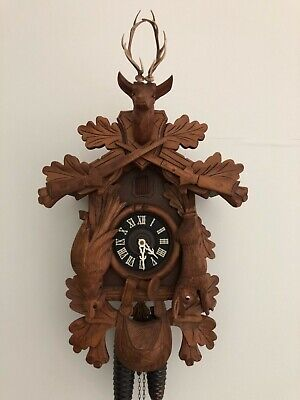West German Cuckoo Clock, Refurbished