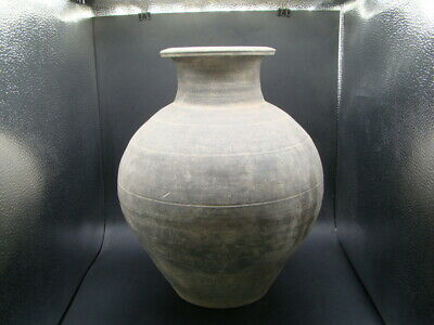 Chinese Han Dynasty (206BC-220AD) nice large pottery vase  w4397