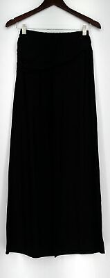 Marc Bouwer Pants Sz XXS Stretch Knit Wide Leg Pull On Black