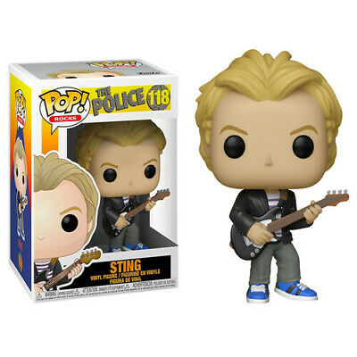 "The Police - Sting 3.75"" Stylized Collectable Funko Pop! Vinyl Figure Gift"