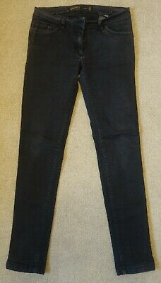 Next skinny lift and shape black-grey jeans UK 14L in vgc