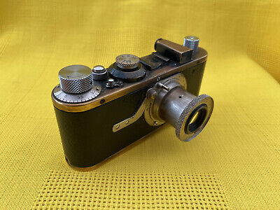 LEICA MODEL I A LEITZ ELMAR F3.5 50mm 1930 REQUIRES WORK SHUTTER NOT FIRING