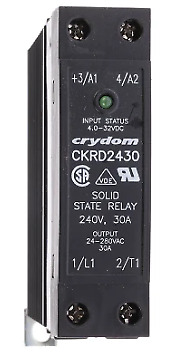 Crydom CRKD2430 Relay Contactor Solid State 240v 30A